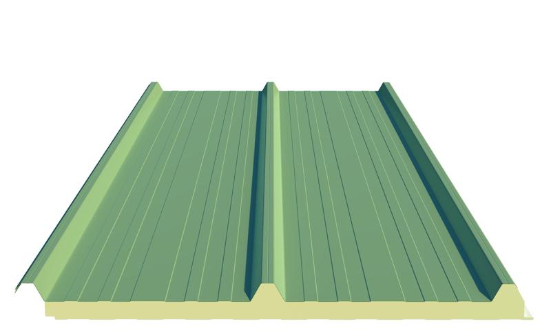 گام ساندویچ پانل سقفی